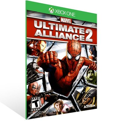 Xbox One - Marvel: Ultimate Alliance 2 - Digital Código 25 Dígitos US