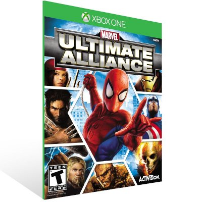 XBOX One - Marvel: Ultimate Alliance - Digital Código 25 Dígitos Americano