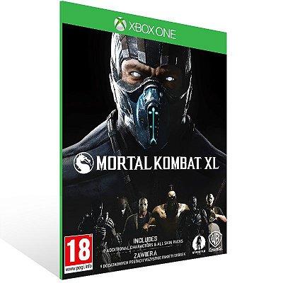 XBOX One - Mortal Kombat XL - Digital Código 25 Dígitos Americano