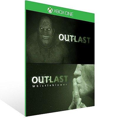 XBOX One - Outlast: Bundle of Terror - Digital Código 25 Dígitos Americano
