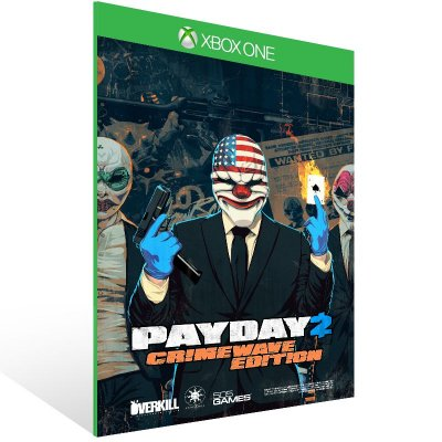 XBOX One - PAYDAY 2: CRIMEWAVE EDITION - Digital Código 25 Dígitos Americano