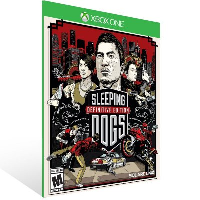 XBOX One - Sleeping Dogs Definitive Edition - Digital Código 25 Dígitos Americano