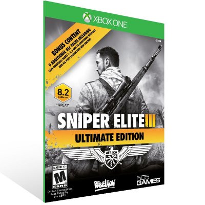 XBOX One - Sniper Elite 3 ULTIMATE EDITION - Digital Código 25 Dígitos Americano