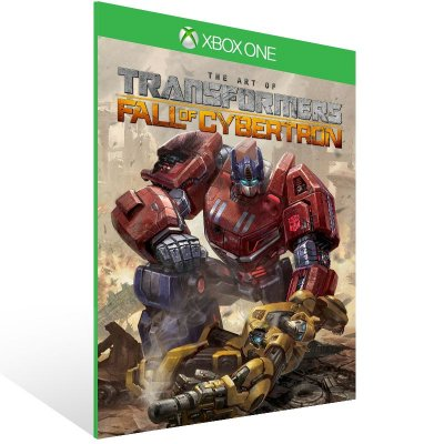 Xbox One - TRANSFORMERS: Fall of Cybertron - Digital Código 25 Dígitos US