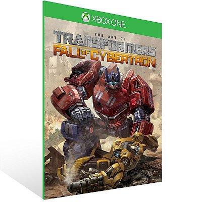 XBOX One - TRANSFORMERS: Fall of Cybertron - Digital Código 25 Dígitos Americano
