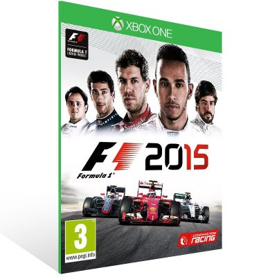 Xbox One - F1 2015 - Digital Código 25 Dígitos US