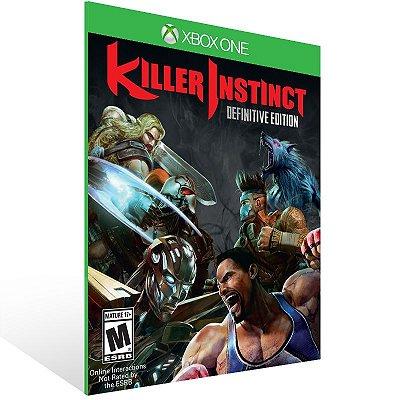 Xbox One - Killer Instinct: Definitive Edition - Digital Código 25 Dígitos US