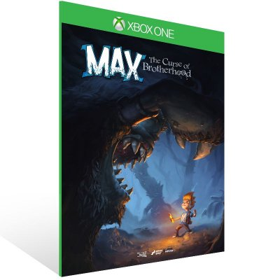 Xbox One - Max: The Curse of Brotherhood - Digital Código 25 Dígitos US