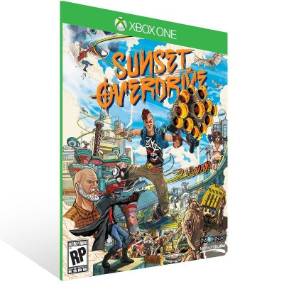 Xbox One - Sunset Overdrive - Digital Código 25 Dígitos US