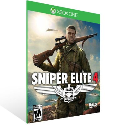 XBOX One - Sniper Elite 4 Bundle - Digital Código 25 Dígitos Americano