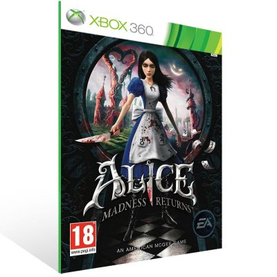Xbox 360 - Alice: Madness Returns - Digital Código 25 Dígitos US