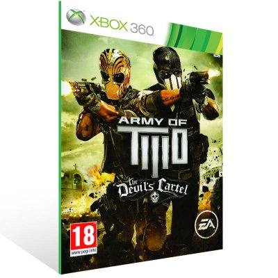 Xbox 360 - Army of TWO The Devil's Cartel - Digital Código 25 Dígitos US