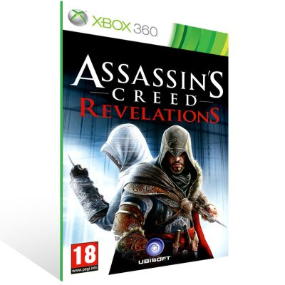 XBOX 360 - Assassin's Creed Revelations - Digital Código 25 Dígitos Americano