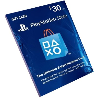Cartão Playstation Network $30 Dólares (Psn Card)