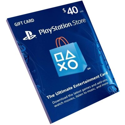 Cartão Playstation Network $40 Dólares (Psn Card)
