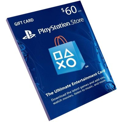 Cartão Playstation Network $60 Dólares (Psn Card)