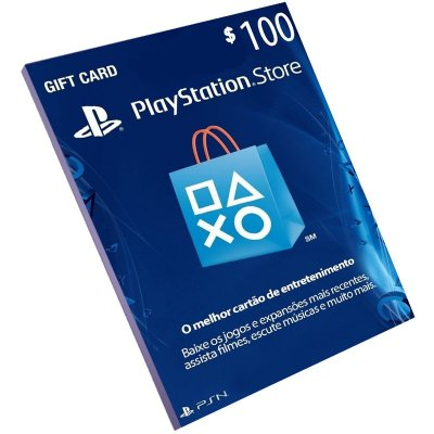 Cartão Playstation Network $100 Dólares (Psn Card)