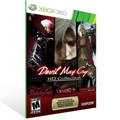 XBOX 360 - DMC HD Collection - Digital Código 25 Dígitos Americano