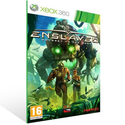XBOX 360 - ENSLAVED - Digital Código 25 Dígitos Americano