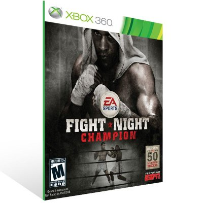 XBOX 360 - FIGHT NIGHT CHAMPION - Digital Código 25 Dígitos Americano