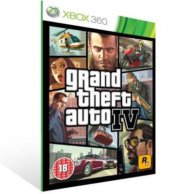 Xbox 360 - GTA IV - Digital Código 25 Dígitos US
