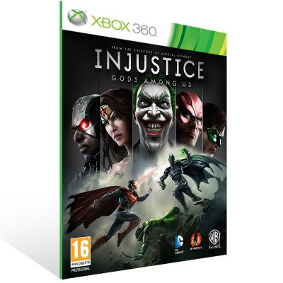 XBOX 360 - Injustice: Gods Among Us - Digital Código 25 Dígitos Americano