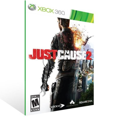 Xbox 360 - Just Cause 2 - Digital Código 25 Dígitos US