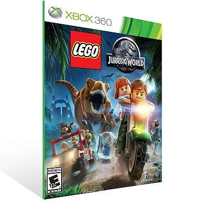 XBOX 360 - LEGO Jurassic World O Mundo Dos Dinossauros - Digital Código 25 Dígitos Americano