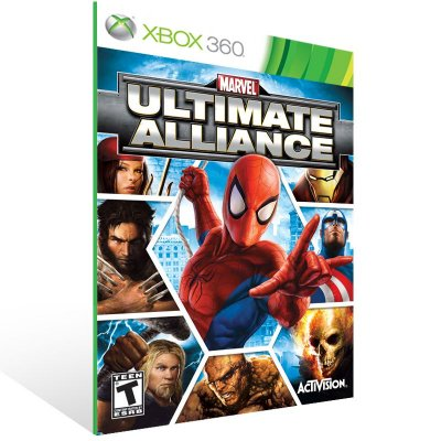 Xbox 360 - Marvel Ult. Alliance - Digital Código 25 Dígitos US