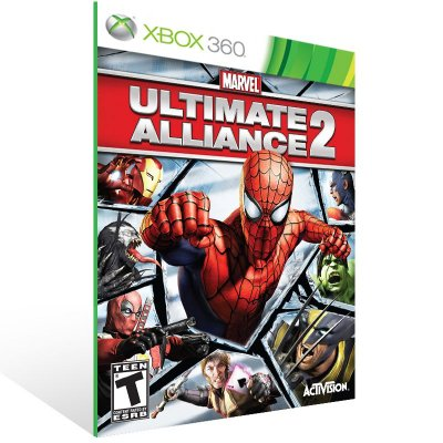 XBOX 360 - Marvel Ult. Alliance 2 - Digital Código 25 Dígitos Americano