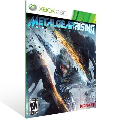 Xbox 360 - METAL GEAR RISING: REVENGEANCE - Digital Código 25 Dígitos US