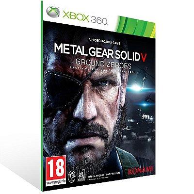 Xbox 360 - METAL GEAR SOLID V: GROUND ZEROES - Digital Código 25 Dígitos US