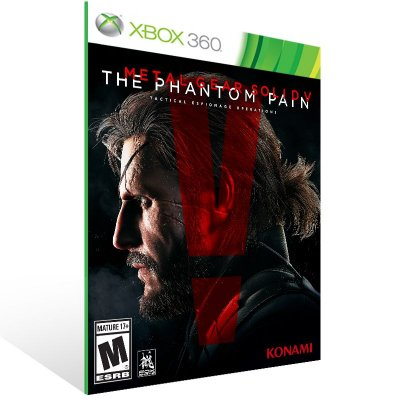 XBOX 360 - METAL GEAR SOLID V: THE PHANTOM PAIN - Digital Código 25 Dígitos Americano