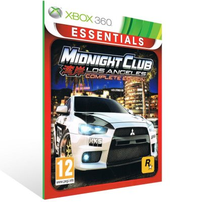 Xbox 360 - Midnight Club: LA - Digital Código 25 Dígitos US