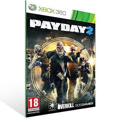 Xbox 360 - PAYDAY 2 - Digital Código 25 Dígitos US