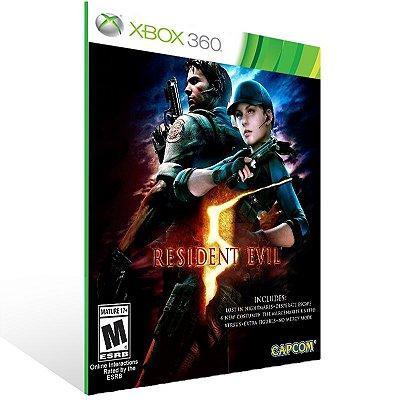 Xbox 360 - RESIDENT EVIL 5 - Digital Código 25 Dígitos US