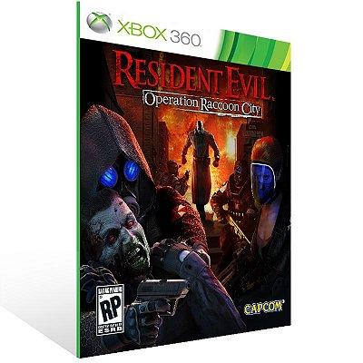 XBOX 360 - Resident Evil Operation Raccoon City - Digital Código 25 Dígitos Americano