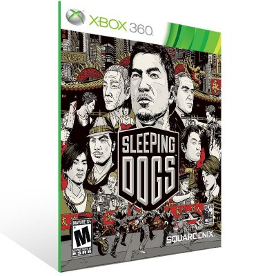 Xbox 360 - Sleeping Dogs - Digital Código 25 Dígitos US
