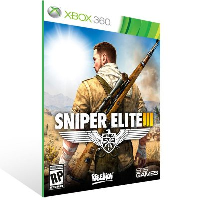 Xbox 360 - Sniper Elite 3 - Digital Código 25 Dígitos US