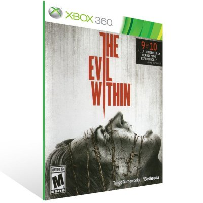 Xbox 360 - The Evil Within - Digital Código 25 Dígitos US