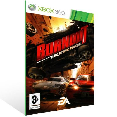 Xbox 360 - Burnout Revenge - Digital Código 25 Dígitos US