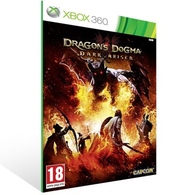 Xbox 360 - Dragons Dogma: Dark Arisen - Digital Código 25 Dígitos US