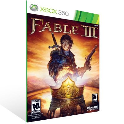 Xbox 360 - Fable III - Digital Código 25 Dígitos US