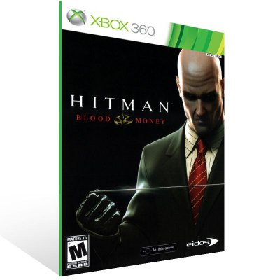 XBOX 360 - Hitman: Blood Money - Digital Código 25 Dígitos Americano