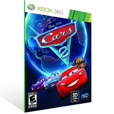 XBOX 360 - Cars 2: The Video Game - Digital Código 25 Dígitos Americano
