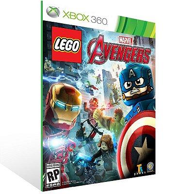 XBOX 360 - LEGO Marvel's Vingadores - Digital Código 25 Dígitos Americano