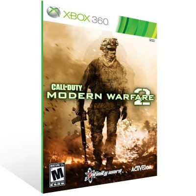 Xbox 360 - Modern Warfare 2 - Digital Código 25 Dígitos US