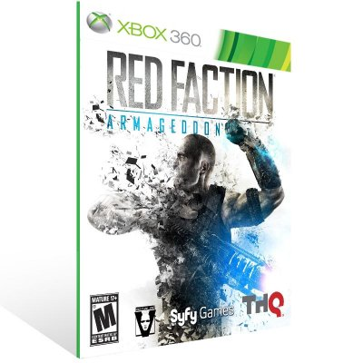 XBOX 360 - Red Faction: Armageddon - Digital Código 25 Dígitos Americano