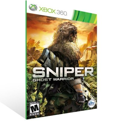 Xbox 360 - Sniper: Ghost Warrior - Digital Código 25 Dígitos US