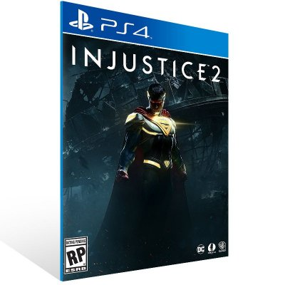 Ps4 - Injustice 2 - Digital Código 12 Dígitos Americano